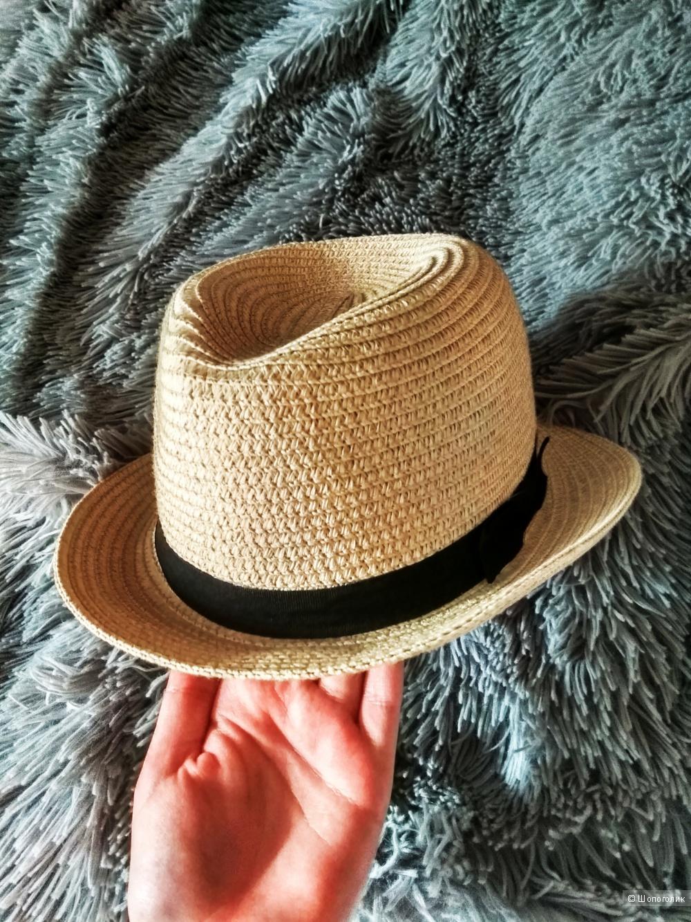 Летняя женская шляпа из 100 % бумажной соломы от O'STIN
