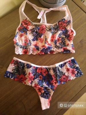 Комплект белья Victorias Secret PINK XS верх и XS низ