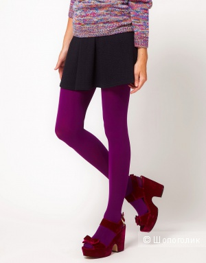 Gipsy 100 Denier Tights - Imperial purple / S
