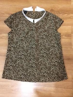 Блузка с леопардовым принтом р-р S