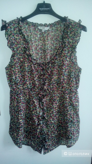 Блузка  с мелкими пайетками New Look Великобритания.Размер 10(38 eu)
