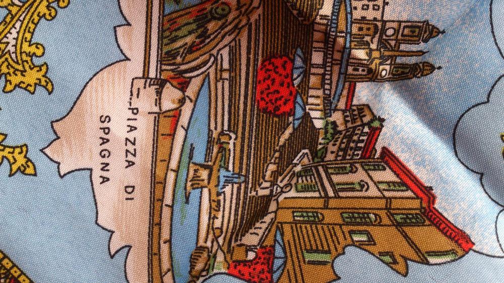 Платок, размер 75х75, Италия