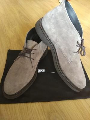 Отличные мужские ботинки из замши ASOS