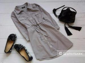 Платье-рубашка, приятный хлопок, H&M