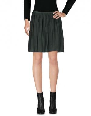 Классная юбка темно-зеленого бутылочного цвета American Outfitters / M
