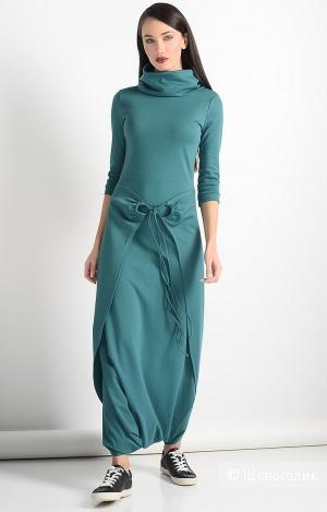 Платье бирюзовое, 46 р.