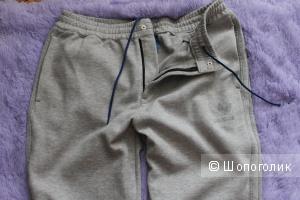Спортивные брюки Adidas, размер 52-54, серые