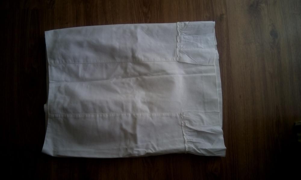 Натуральная хлопковая юбка карандаш на лето Mango размер 38