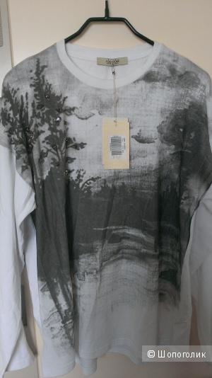 Трикотажная блузка NO-NA