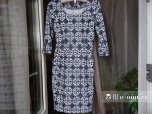 Платье Eris с узором в византийском стиле, размер 40-42, б/у