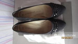 Туфли замшевые Peter Kaiser р.36,5
