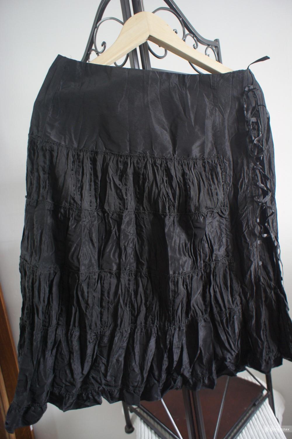 Топ-корсет и юбка, р 48