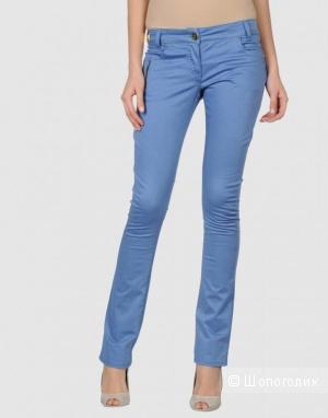 Anna Rita N стильные голубые джинсы брюки