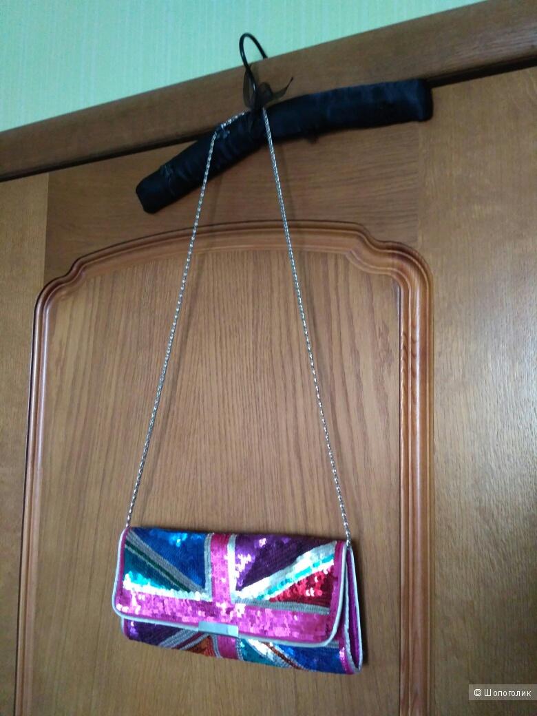 Сумочка-клатч Accessorize в отличном состоянии