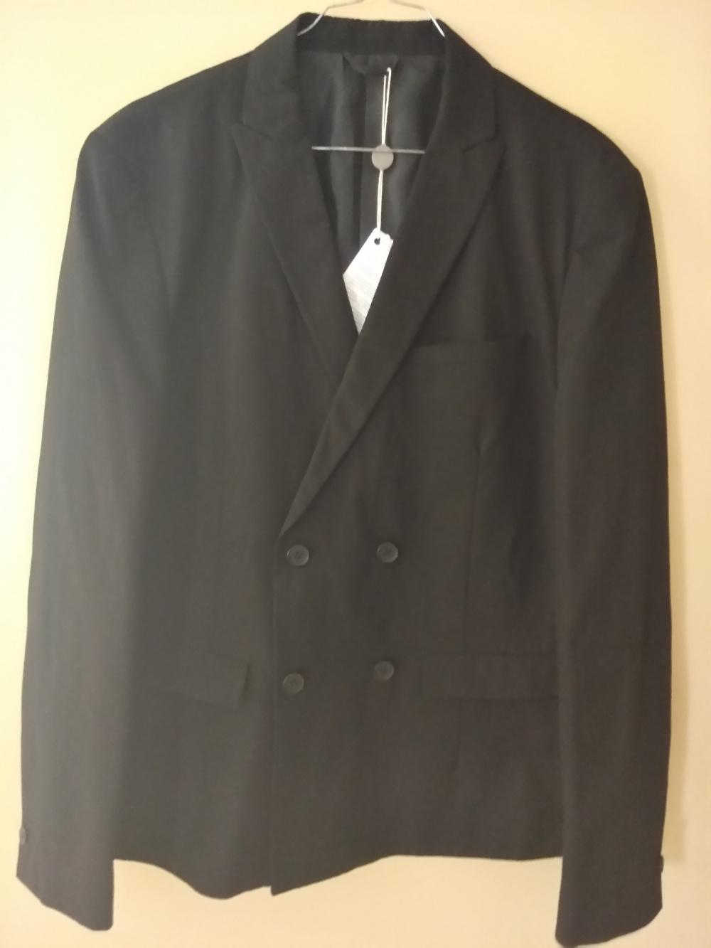 Пиджак мужской черный , Selected homme , р48.