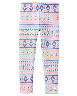Леггинсы 236G242 Geo Print Leggings на 12мес 72-78см, 9,3 - 11,1кг