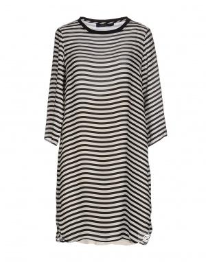 Шелковое платье POLO RALPH LAUREN 46 (Российский размер) дизайнер:8 (US) Черный
