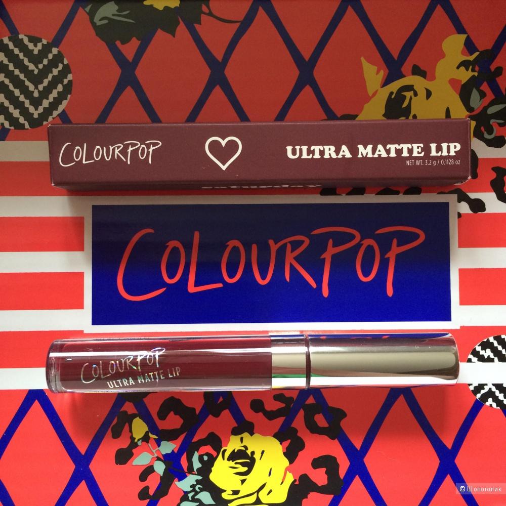 Матовая помада Colourpop Saturday