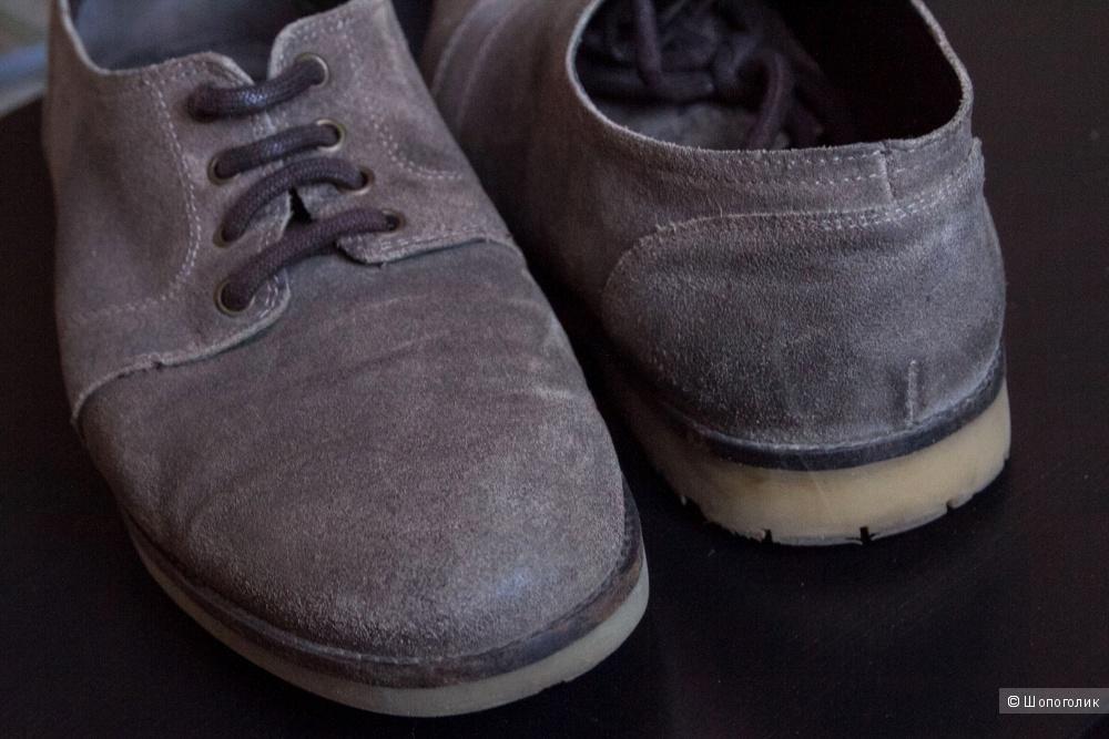 Замшевые туфли Pullandbear