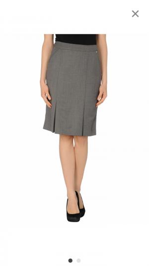Офисная шерстяная юбка 44-46 размер