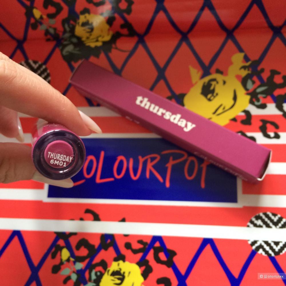 Матовая помада Colourpop Thursday