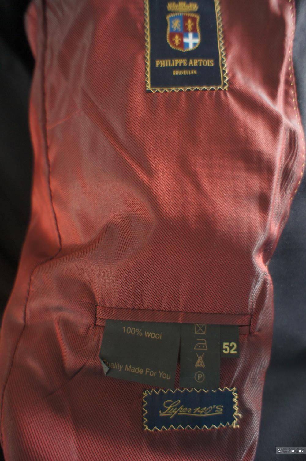 Мужской костюм Philippe Artois , р 52, рост 186