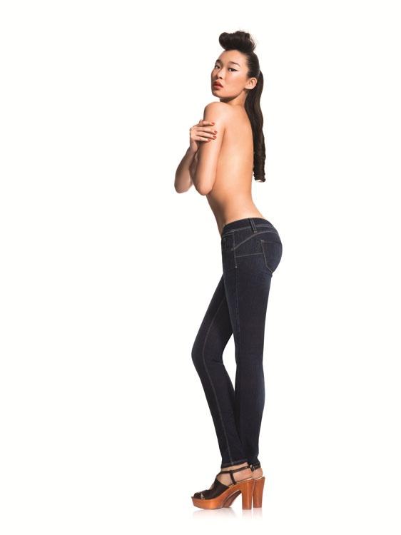 Корректирующие джинсы Benetton Pin Up (27 размер)