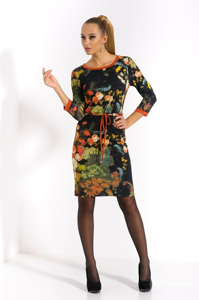 Платье повседневное,  46 размер. MERLIS