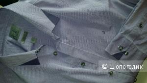 CALVIN KLEIN новая фиолетовая блузка-рубашка