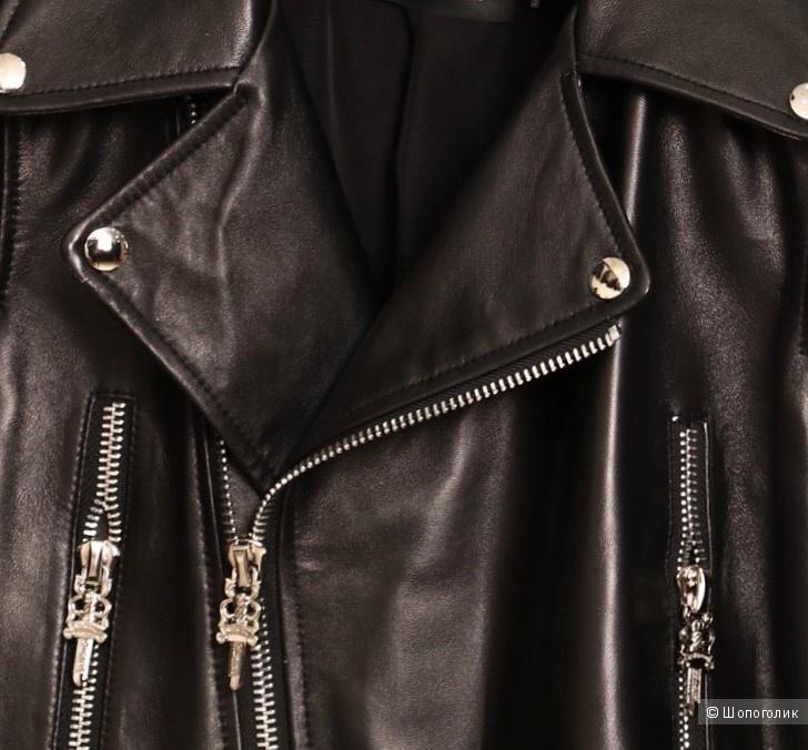 Новая куртка из натуральной кожи высокого качества