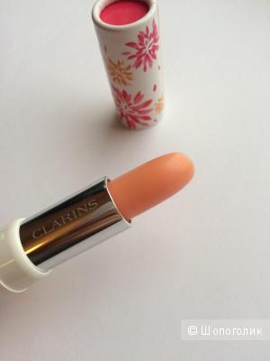 Clarins Eclat du Jour Бальзам для губ, придающий объем и усиливающий цвет