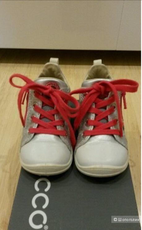 Кожаные кроссовки ECCO, размер 20