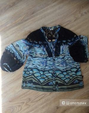 Винтажная блуза KENZO, 100% оригинал, Франция, размер 42 российский.