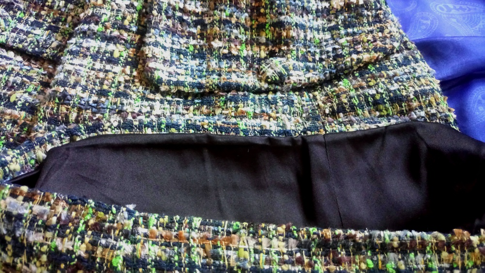 Шорты твид бренд LUBLU шёлковый подклад M 44 выше колена