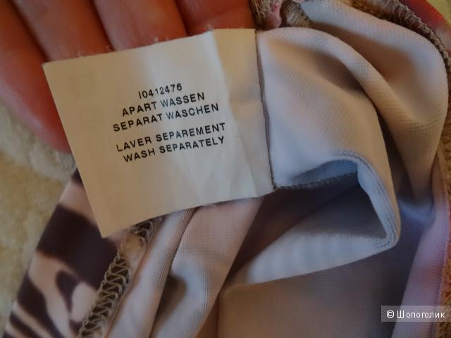 "Блузка с зебрами ""S.Marlon"", Италия, размер 42-44, б/у"