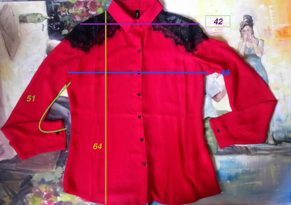 Сет из 3-ёх блузок размер S/M, мультиколор