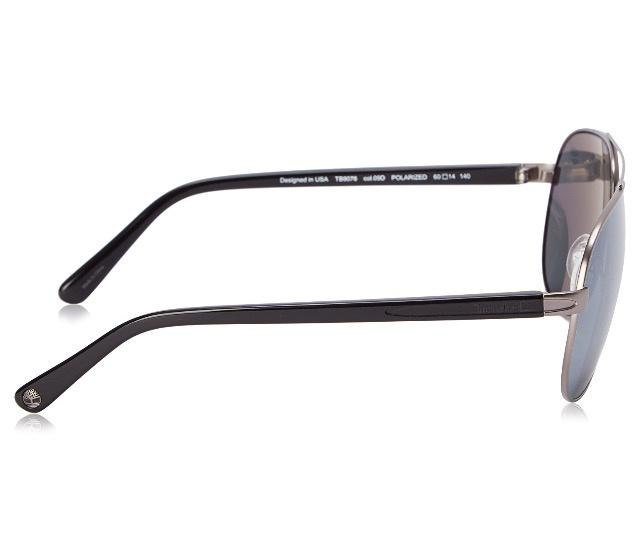 Timberland Men's TB9076 Polarized Aviator Sunglasses