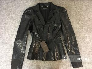 Новая кожаная куртка Gucci, размер XS