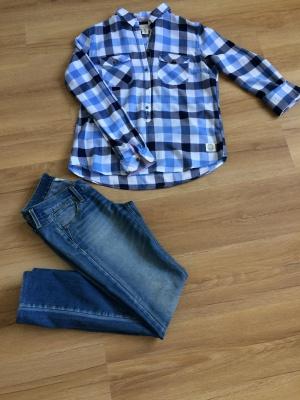 Рубашка H&M, размер 38