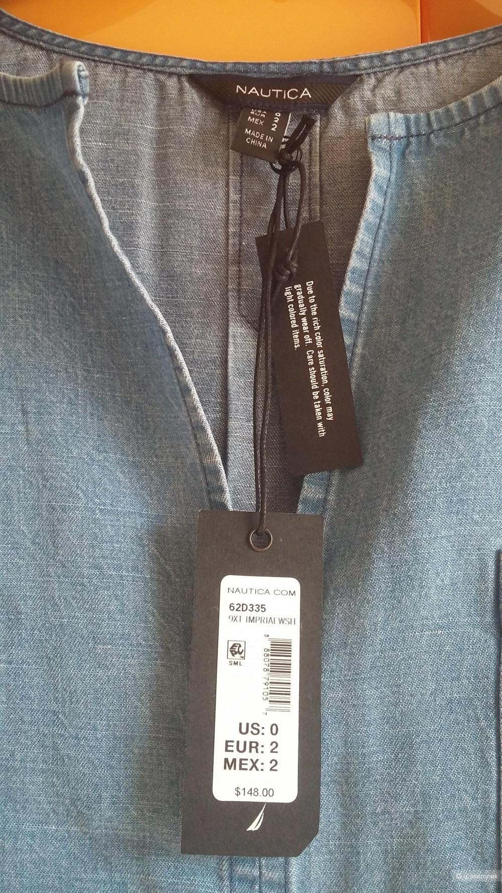 Платье джинсовое Nautica, р-44.