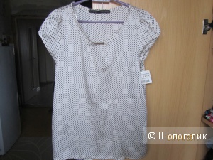 Новая блузка ZARA р.S