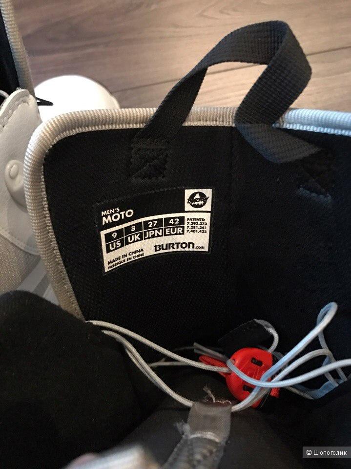 Мужские ботинки для сноуборда Б/У Burton Moto 42 EU (по факту 40 EU)