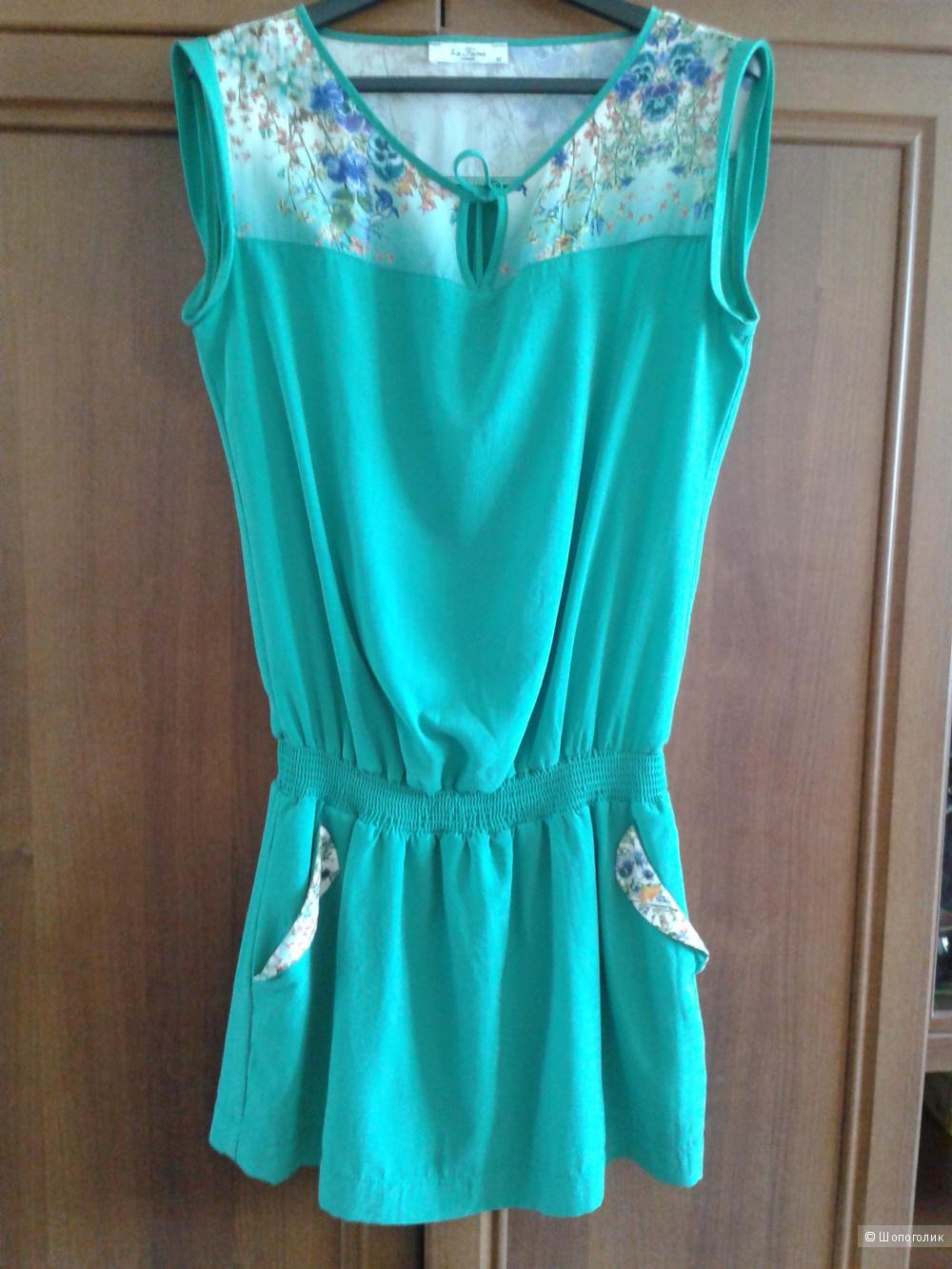 Зеленое платье.