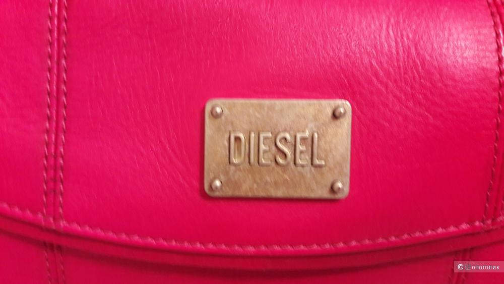 Кожаная сумка Diesel новая