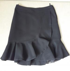 Черная короткая юбка Luisa Spagnoli, 44 размер