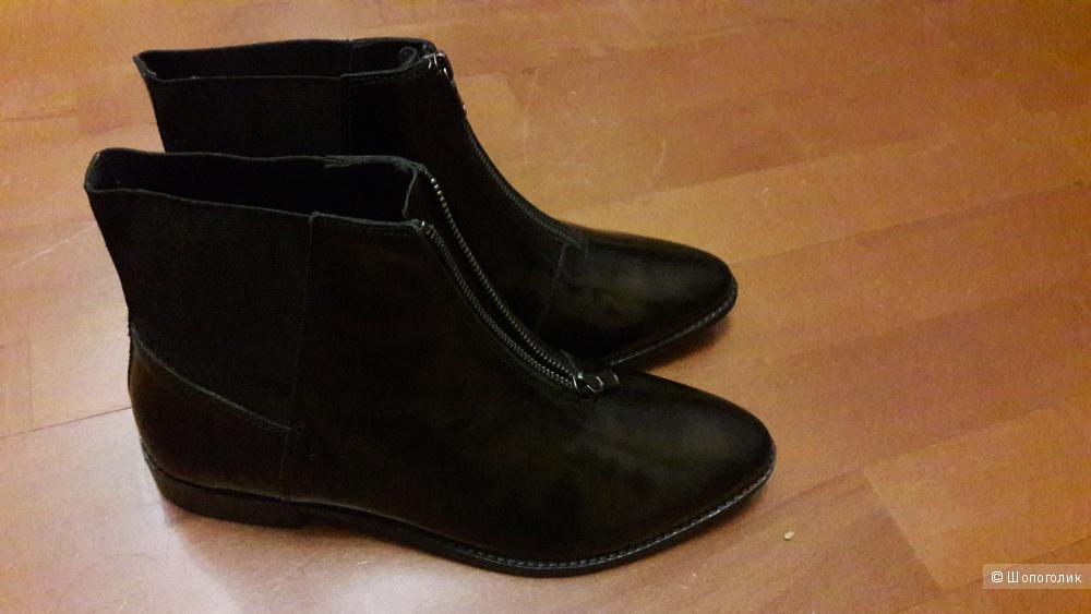 Новые кожаные ботинки Asos на 40 размер маркировка 8