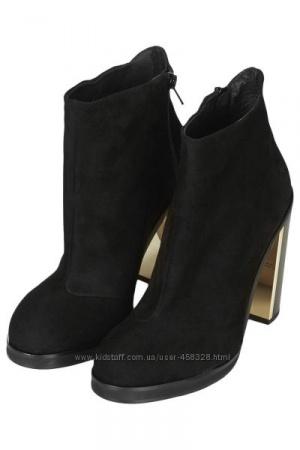 Натуральные замшевые ботинки Topshop 39 размер