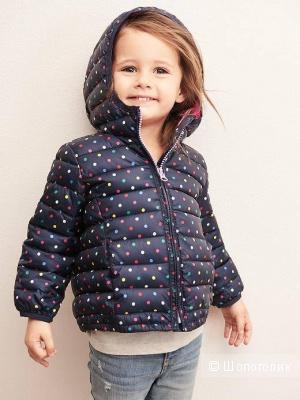 Детская куртка весна-осень Baby GAP 12-18 мес новая на маленькую модницу