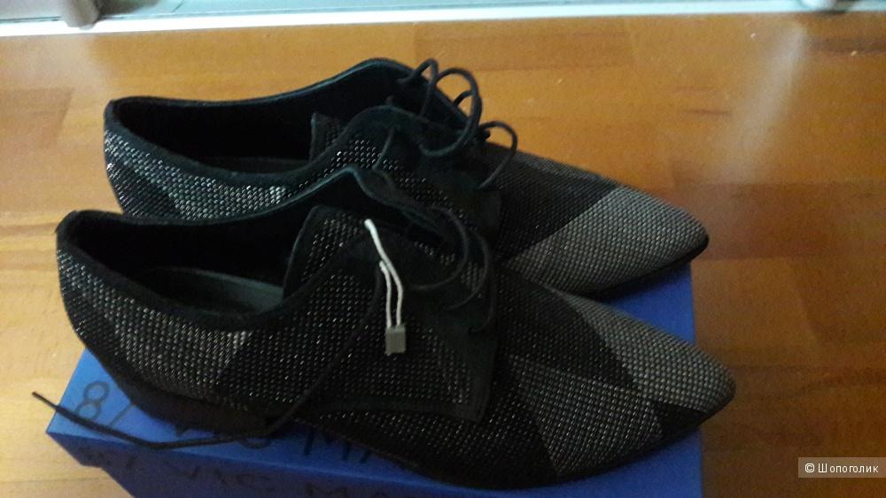 Новые туфли-ботинки 87 Vic matie 40 размера