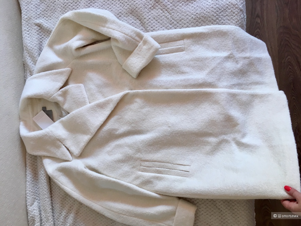 Пальто новое шерсть, на 54 р-р.